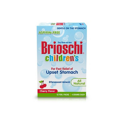 Brioschi Children's Upset Stomach Effervescent Antacid