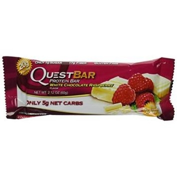 Quest Bar Protein Bar White Chocolate Raspberry
