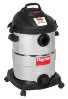 DAYTON 22XJ47 Wet/Dry Vacuum, 6 HP, 12 gal, 120V
