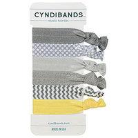 CyndiBands Set of 6 Hair Ties, Splendor, .3 oz