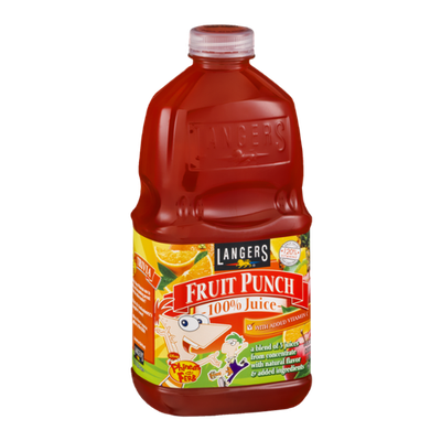 Langers Fruit Punch 100% Juice