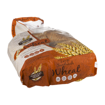 Harvest Pride Wheat Sandwich Rolls Large - 8 CT