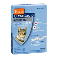 Hartz Ultra Guard Reflecting Flea & Tick Collar for Cats and Kittens