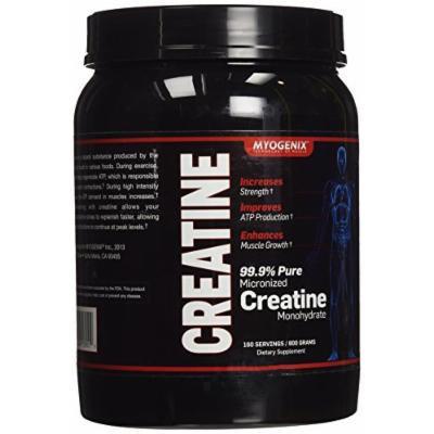 Myogenix Creatine Monohydrate Supplement, 160 Count
