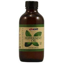Vitacost Brand Vitacost 100% Pure Peppermint Oil 4 fl oz (118 mL)