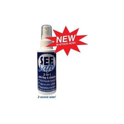 JAWS Products SEEsafe 2-in1 anti-fog & cleaner 2oz bottle