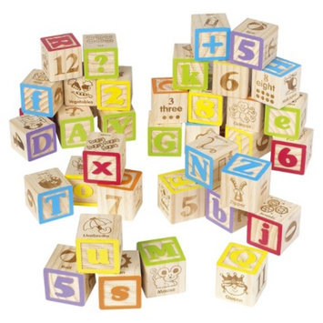 Maxim Enterprise Inc. MAXIM 40 pc ABC Blocks with Bag