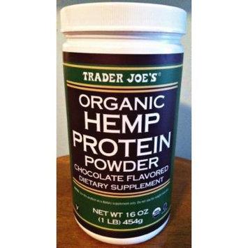 Trader Joe's 16 Oz. Organic Hemp Protein Powder Dietary Supplement (Vanilla)