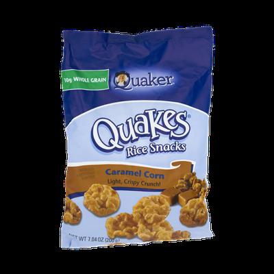 Quaker Quakes Caramel Corn Rice Snacks