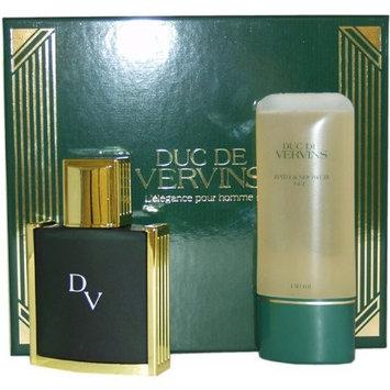 Duc De Vervins By Houbigant For Men Edt Spray 4 Oz & Shower Gel 5 Oz