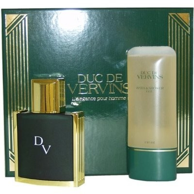 Duc De Vervins By Houbigant For Men Edt Spray 4 Oz & Shower Gel 5 Oz