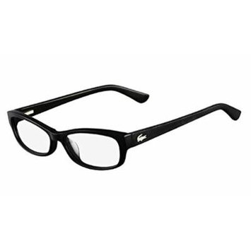 LACOSTE L2673 Eyeglasses 001 Black Demo Lens 52-15-135