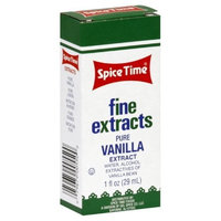 Spice Time Extracts Pure Vanilla, 1-Ounce (Pack of 8)