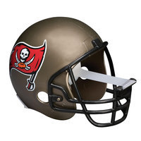 Scotch Magic Tape Dispenser Tampa Bay Buccaneers Football Helmet - Holds Total 1 Tape[s] - Refillable - Bronze (c32helmettb)