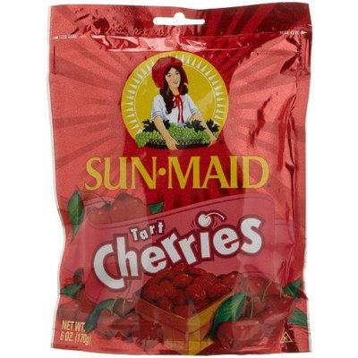 Sun-Maid Sun Maid Tart Cherries, 6-Ounce Pouches (Pack of 6)