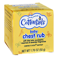 Cottontails Baby Chest Rub