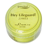 Supernail Acrylic Powder, Hey Lifeguard, 0.5 Ounce