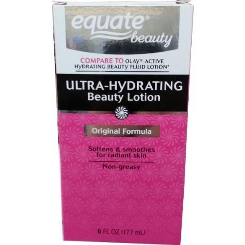Equate Ultra Hydrating Beauty Lotion Original Formula 6 Oz (Compare to Olay Original Beauty Fluid)