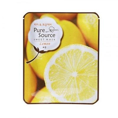 Missha Pure Source Sheet Mask (Lemon) (pack of 5)