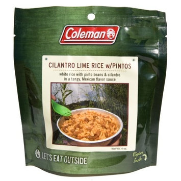 Coleman Dehydrated Backpack Camping Food Cilantro Lime Rice with Pinto Beans 402