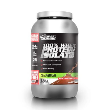 100% Whey Protein Isolate Dark Chocolate Inner Armour 1.6 lb Powder