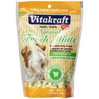 Vitakraft Natural Fresh Mints, 8-Ounce