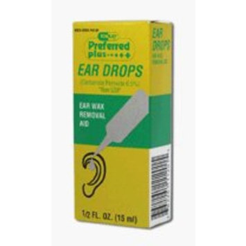Preffered Plus Products Ear Drops For Earwax Removal Aid - 0.5 Fl Oz