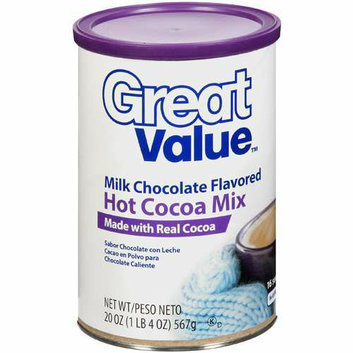 Great Value : Milk Chocolate Flavored Hot Cocoa Mix