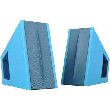 Microlab FC10 Triangle 2.0 Speaker System, Blue