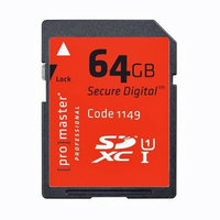 ProMaster Professional SDXC 600X 64GB Memory Card