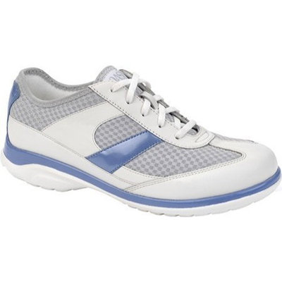Oasis Women's Emma Casual Shoes,White,9 XW US