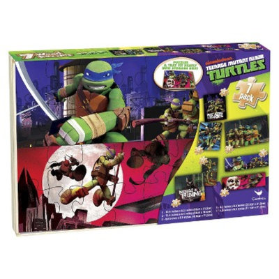Teenage Mutant Ninja Turtles Puzzles in Wood Box - 7 pk
