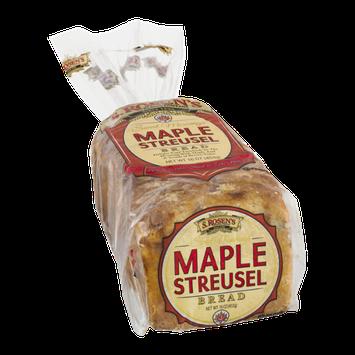 S. Rosen's Sweet Mornings Maple Streusel Bread