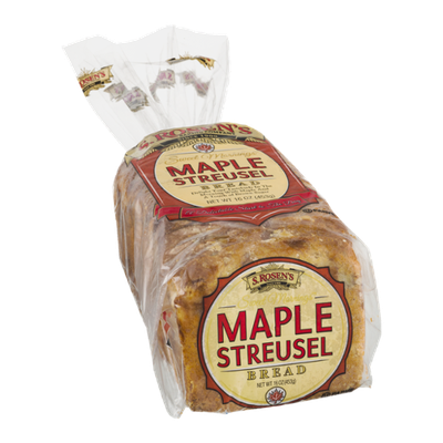 S. Rosen's Sweet Mornings Maple Streusel Bread