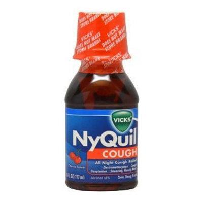 Vicks NyQuil Cough Liquid, Cherry, 6 oz