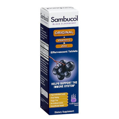 Sambucol Effervescent Tablets Original + Vitamin C & Zinc