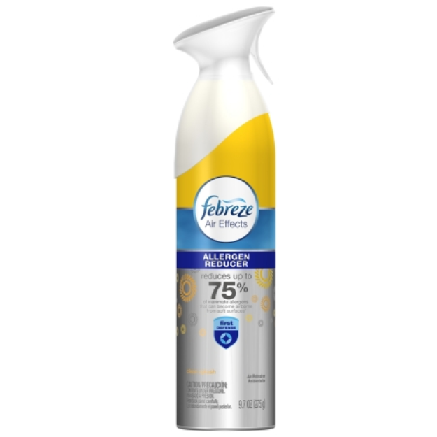 Febreze Air Effects Clean Splash Scent Allergen Reducer Air Freshener