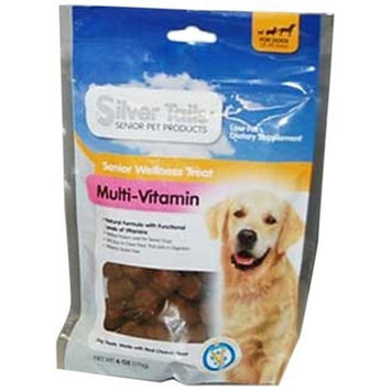 Silver Tails Natural Smoke Multivitamin Dogs Soft Chew Treats, 6-Ounce