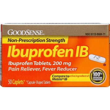 Good Sense Ibuprofen Ib Caplets 200 Mg Case Pack 24