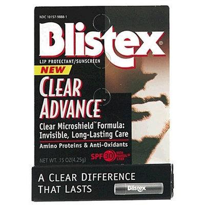 Blistex Clear Advance Lip Protectant/Sunscreen, SPF 30