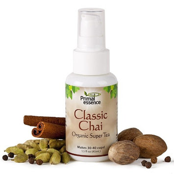 Organic Super Tea Classic Chai Primal Essence 1.5 oz Spray