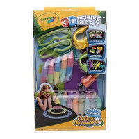 Crayola Sidewalk Chalk 3D Deluxe Art Set