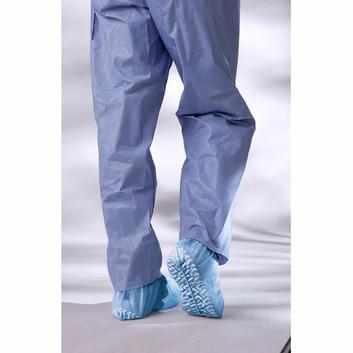 Medline Non-Skid Spun Bond Poly Shoe Cover in Blue