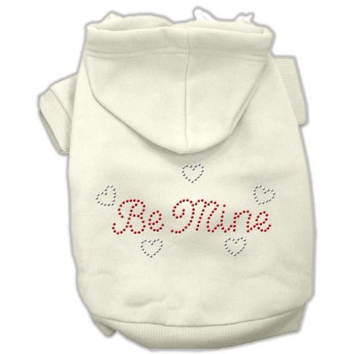 Mirage Pet Products 5412 MDCR Be Mine Hoodies Cream M 12