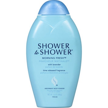 Shower to Shower Absorbent Body Powder, Morning Fresh Lavender, 13 oz