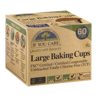 If You Care FSC Certified Compostable Large Baking Cups - 60 CT