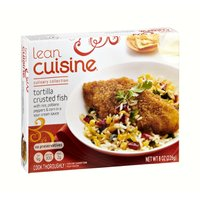 Lean cuisine culinary collection tortilla crusted fish for Are lean cuisine pizzas healthy