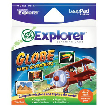 LeapFrog Explorer Learning Game - Globe Earth Adventures