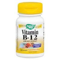 Nature's Way Vitamin B-12 Dietary Supplement Lozenges