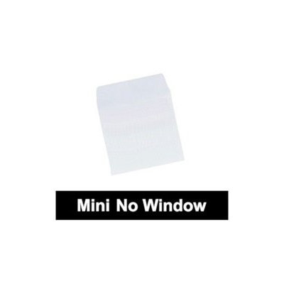 Checkoutstore 1000 Mini Paper CD Sleeves with Flap (No Window)